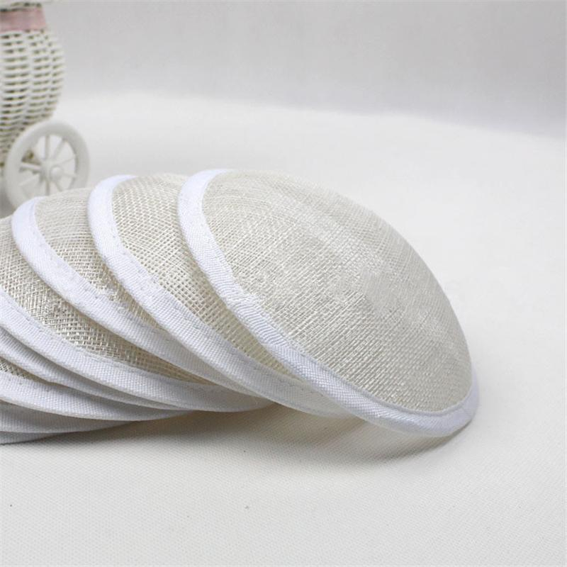 3pc/lot 13cm Round Sinamay Fascinator Base Wedding Hats And Fascinators DIY Hair Accessories 6 Color DY0001(China (Mainland))
