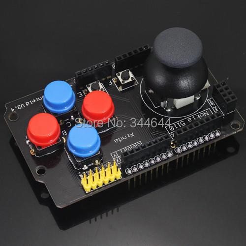 Rocker button game analog joystick keyboard shield control