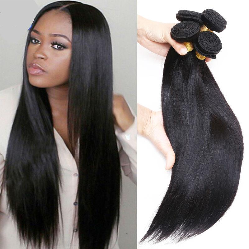 Rosa Cheap 7A Peruvian Straight Hair Peruvian Straight Virgin Hair 3 pcs/lot Peruvian Hair Straight No Tangle Long Last