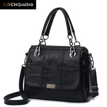 Buy KASHIDINUO Brand Fashion Soft Leather Handbags Patchwork Women Shoulder Messenger Bags Ladies Crossbody bags Totes Bolsos Mujer for $23.09 in AliExpress store