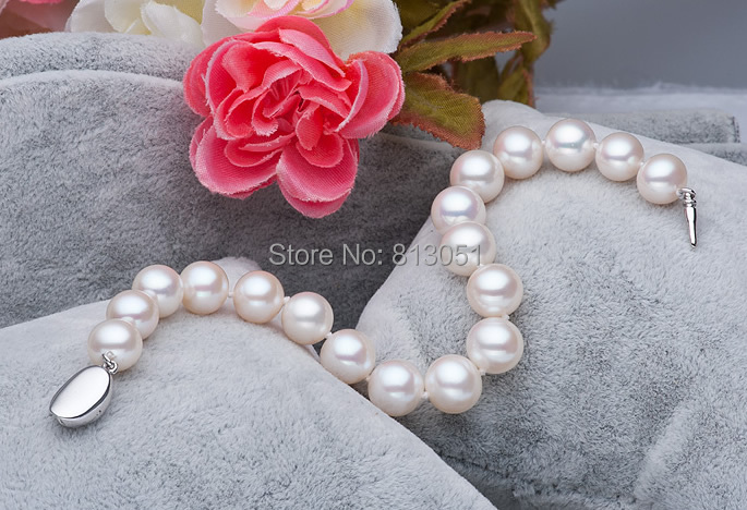 Free shipping!!!Freshwater Cultured Pearl Bracelet,Jewelry For Men, Freshwater Pearl, sterling silver box clasp, Round, natural