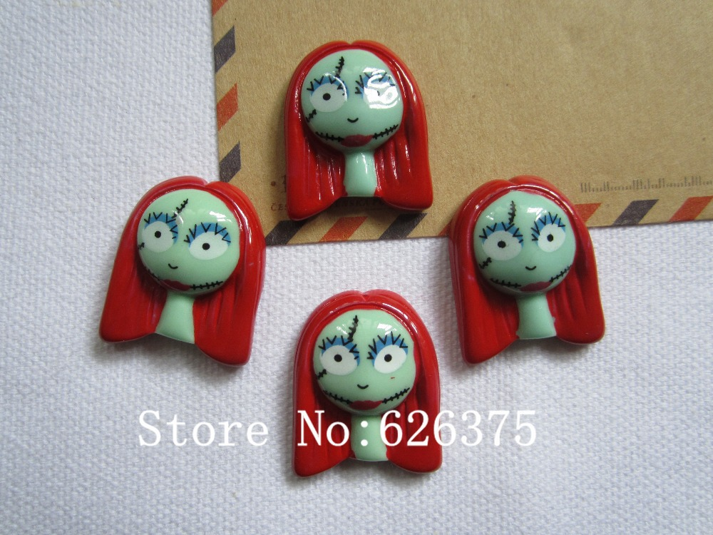 Rena!! Min.order $6 (mix order), Cute Sally for Halloween Party for Hair Bow Center, DIY (22*27mm), Free Shipping(China (Mainland))