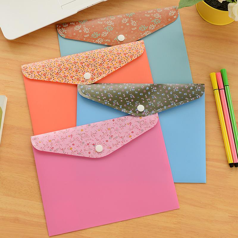A4 Bag Folder file Design Cute Saika Document Folders New PVC Waterproof Bags Free Shipping<br><br>Aliexpress