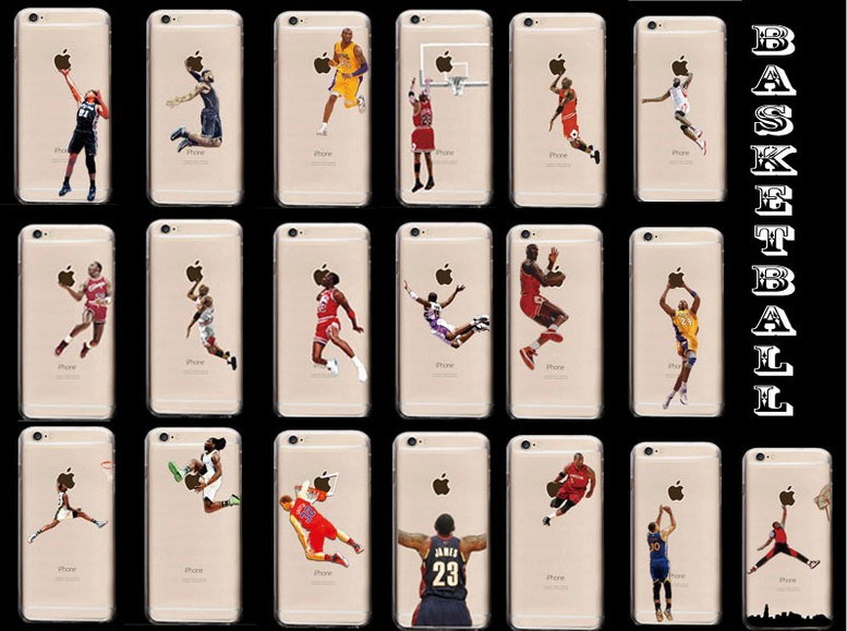 Novelty NBA Superstar Custom Cell Phone Case For iphone 5 5s 6 6plus Personalized Case Back Cover Gift For Basketball Fans(China (Mainland))