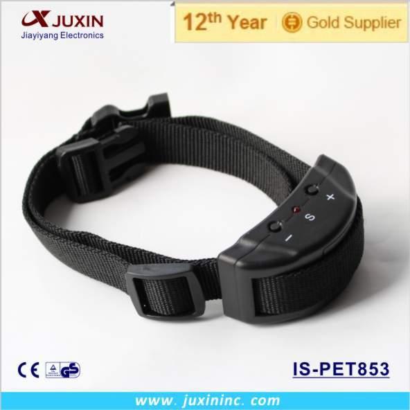Newest 2015 Free Shipping Dog Agility Product Anti Bark Dog Training Collar No Bark Collar electric dog collar(China (Mainland))