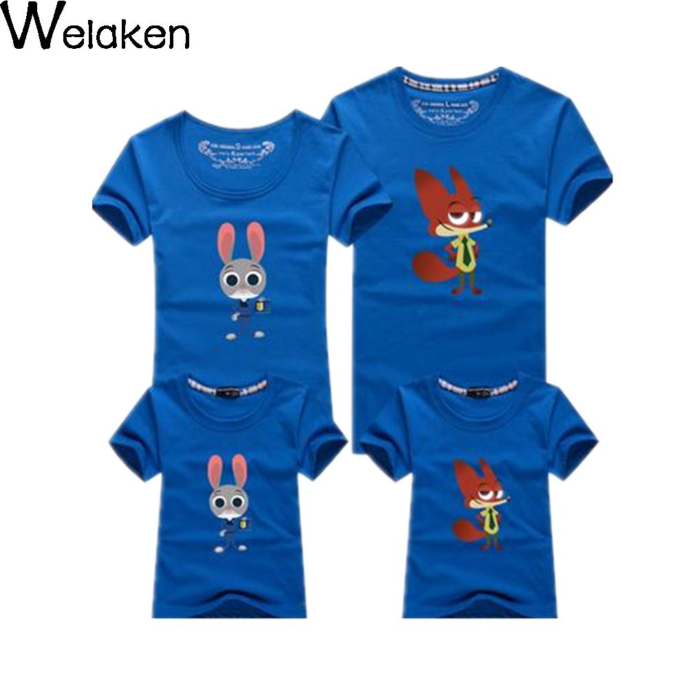 New Arrival 2016 font b Family b font Look Summer Cotton Mouse T Shirt Dad Mum