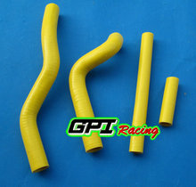 Buy GPI silicone radiator hose FOR SUZUKI RM125 RM 125 2001-2008 2002 2003 2004 2005 2006 2007 YELLOW for $18.00 in AliExpress store