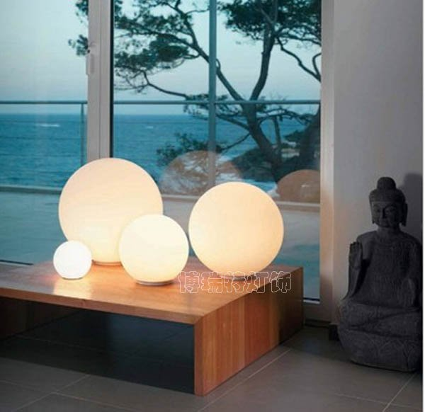 Buy Modern Table Lighting With Plug Opal Glass Desk Lamp For