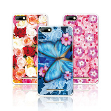 Buy Floral Art Painted Flower Phone Cases BQ Strike BQS5020 5 inch Case Cover Soft Silicone Capa Fundas BQ Strike BQS 5020+Free Gift for $1.89 in AliExpress store