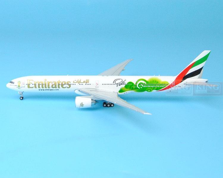 New: GJUAE1484 B777-300ER Emirates airline GeminiJets 2014 World Cup commercial jetliners plane model hobby(China (Mainland))