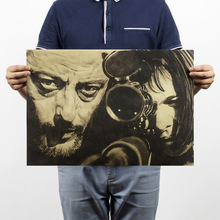[H282] The killer is not too cold / B models / movies / kraft paper poster / decorative painting Paper Poster Decorative(China (Mainland))
