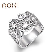 Luxusný moderný prsteň ROXI z Aliexpress