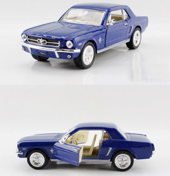 Free Shipping 1:36 FORD mustang 1964 saloon car Alloy model toys back in alloy car models for kids gift(China (Mainland))