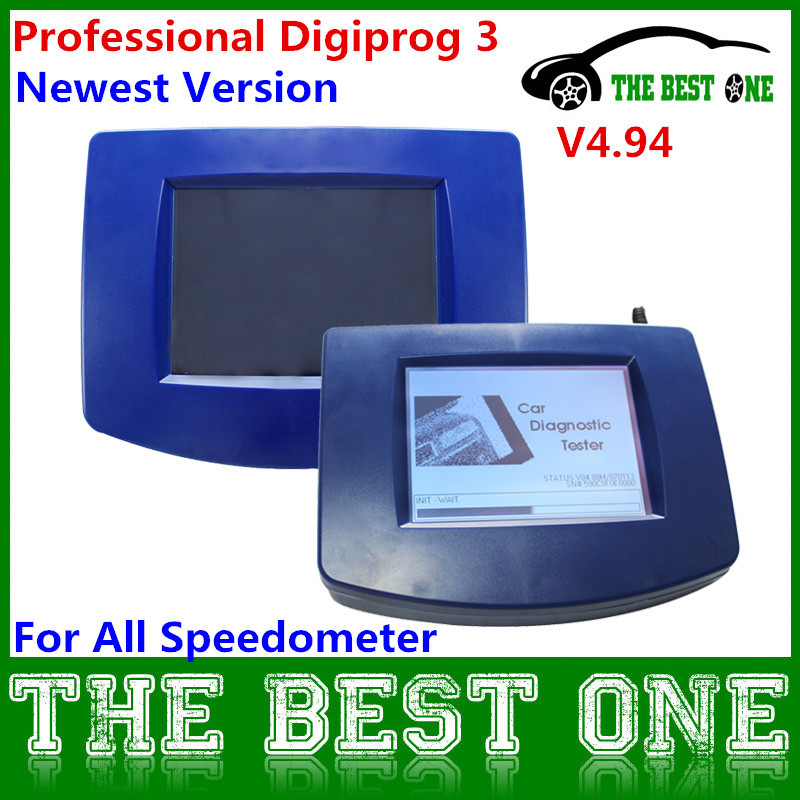Professional OBD2 Version V4.94 DIGIPROG III Mileage Programmer Digiprog 3 Odometer Correction Tool Full Software Multi-Language(China (Mainland))