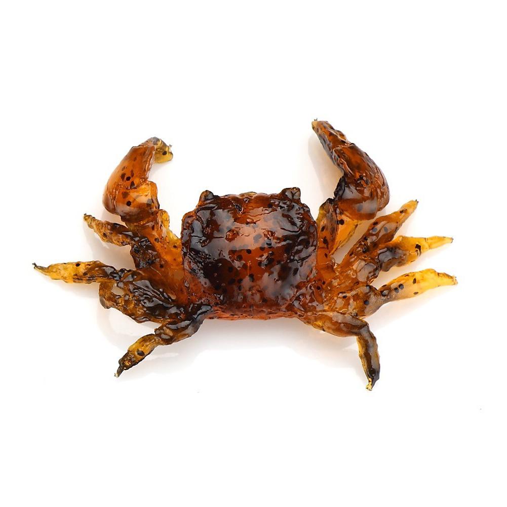 2016 Fashion 10CM Soft Lure Fishing Bait 3D Simulated Crab Shaped Lure Baits Lure Fishing Tools(China (Mainland))