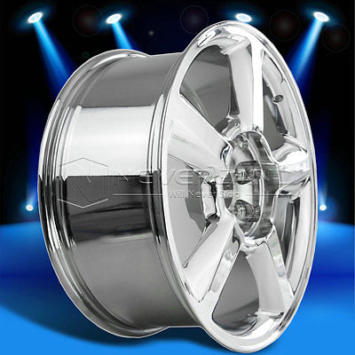 2015 New 20''x8.5''Alloy Car Wheels Rim Chrome Fit for Chevrolet Avalanche Tahoe Suburban+31 offset USA Stock Free Shipping(China (Mainland))