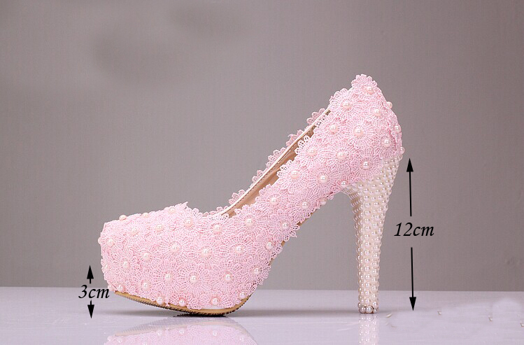 Free Shipping Wedding Shoes White Low Heel Bridal Dress Shoes Evening Party Prom Shoes Lady