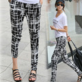 2016 new arrival summer women s pencil pants plus size elastic waist loose haren pants casual
