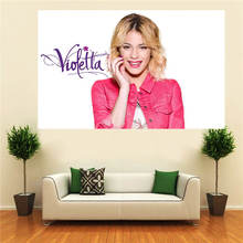 LUQI Custom Violetta Canvas Painting Wall Silk Poster cloth print DIY Fabric Poster free shipping SQ0626=NFG284(China (Mainland))