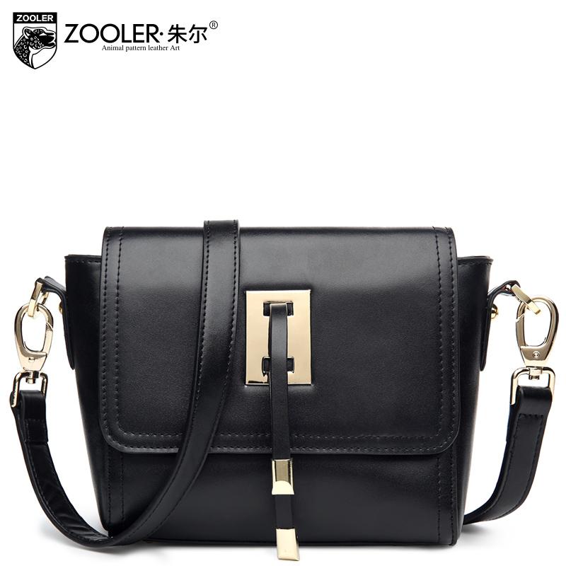 Solid color brief women's genuine leather handbag small bag fashion 2015 women's crossbody bags female messenger bag