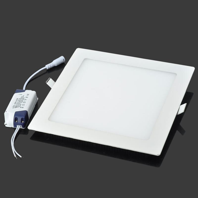 Warm White Square Led Lamp 18W LED Panel Light Ceiling Downlight Lamp AC 90-265V 3500K Spotlight FYDA1229M3(China (Mainland))