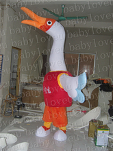 goose mascot costume halloween costumes party costume dinosaurs fancy dress christmas kids gift surprise