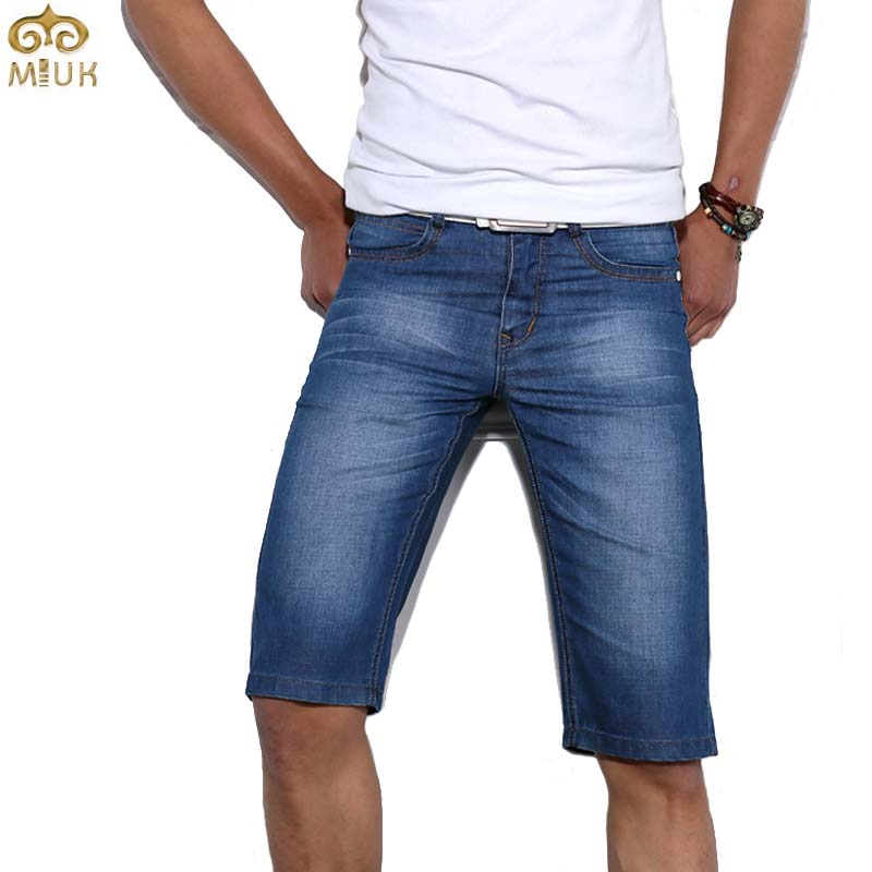 miuk large size shorts 38 36 blue brand denim