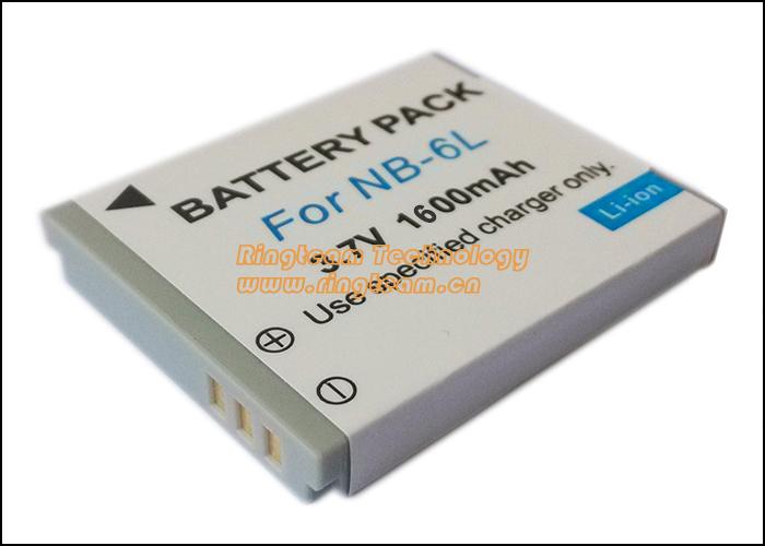 NB6L NB 6LH NB 6L Digital Batteries for Canon Power shot Cameras SX520 HS SX530 SX600