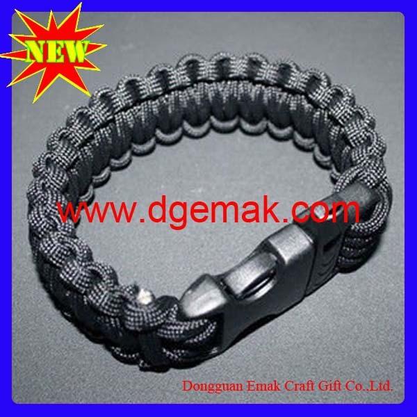 fashion metel mesh magnetic buckle safety survival shamaballa bracelet weaves