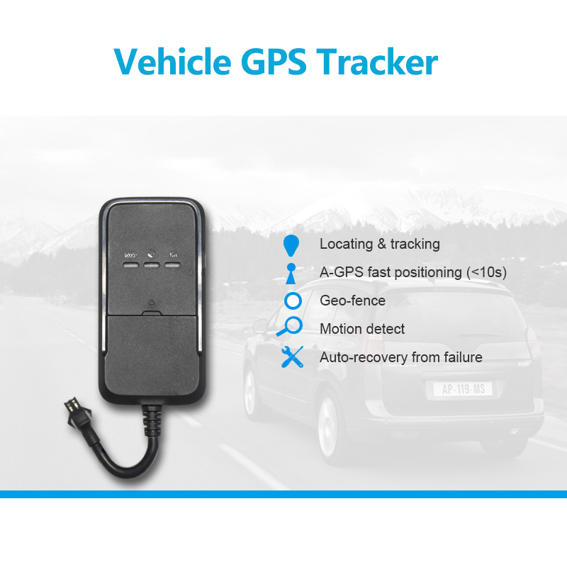 Vehicle GPS Tracker GPS + GSM + GPRS wireless network Check location via SMS/APP/platform A-GPS fast positioning(China (Mainland))