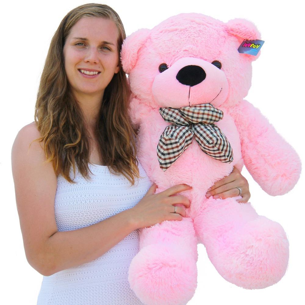 Joyfay Pink Big Teddy Bear Stuffed Toy(China (Mainland))