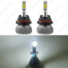 Buy 2Pcs Super White 9004/9007 Hi/Lo 60W 6400LM Car COB LED Headlight Kit Fog Lamp Bulbs Light Xenon 6000k #J-2404 for $22.31 in AliExpress store
