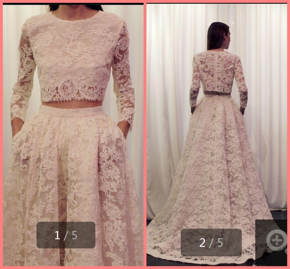 Winter winter 2015 best selling ivory lace two piece for Sell vintage wedding dress