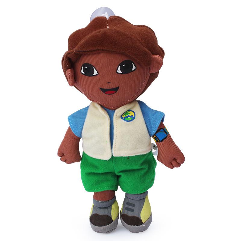 "Free Shipping 10pcs/lot cute Go Diego Go Dora the Explorer Plush Doll Toy 8"" 20cm(China (Mainland))"