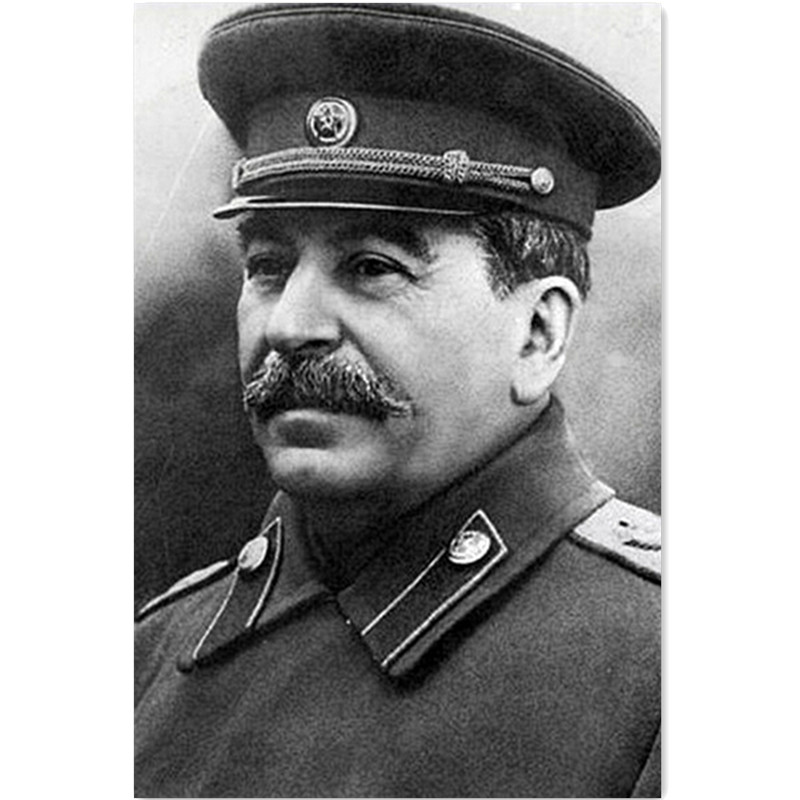 Stalin portrait reviews online shopping stalin portrait for Best brand of paint for kitchen cabinets with cross stitch wall art