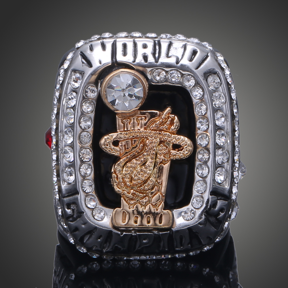 2012 Miami Hot National Basketball World Championship Ring Replica Sports Champion Ring James Wade Fans Collection Rings J02116(China (Mainland))