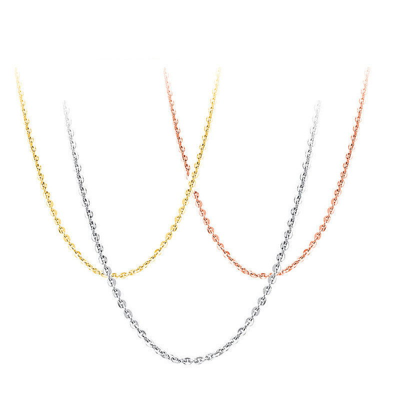High quality hot S925 pure silver fashion joker collarbone chain extended chain manufacturers selling jewelry gifts(China (Mainland))