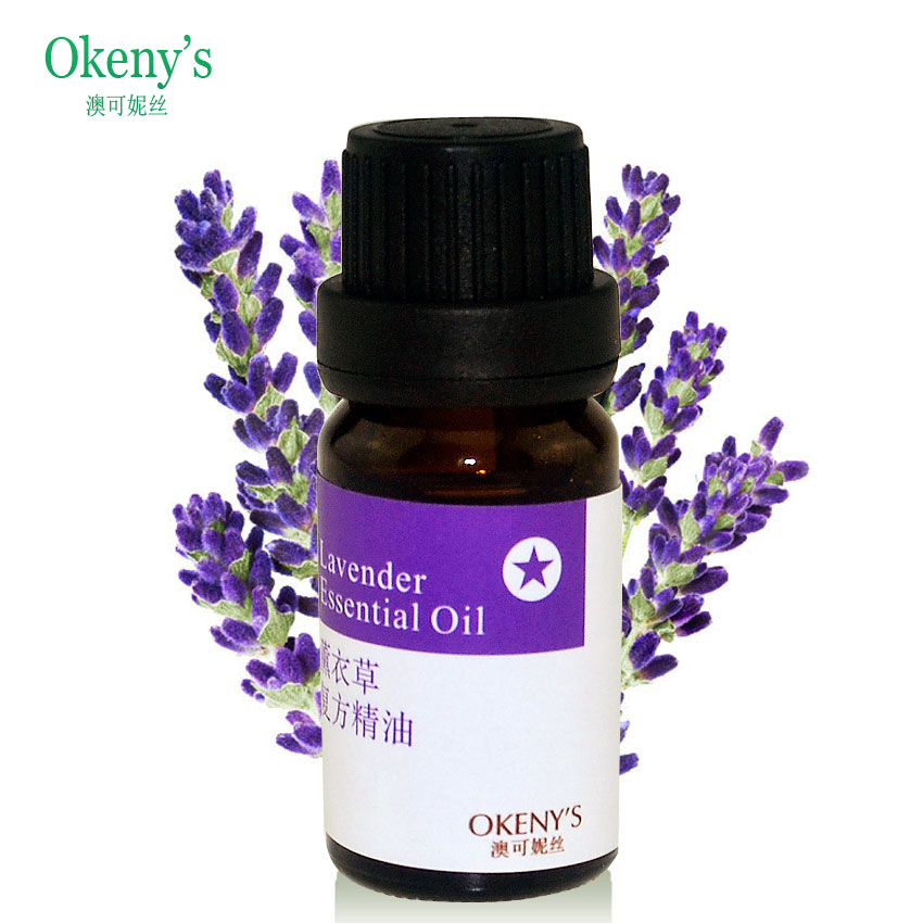 Natural 100% pure lavender essential oil 10ml for remove acne, scar repair, help sleep, skin care massage oil, pure lavender oil(China (Mainland))