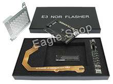 Genuine E3 FLASHER For PS3 console with 4 accessories with box free shipping
