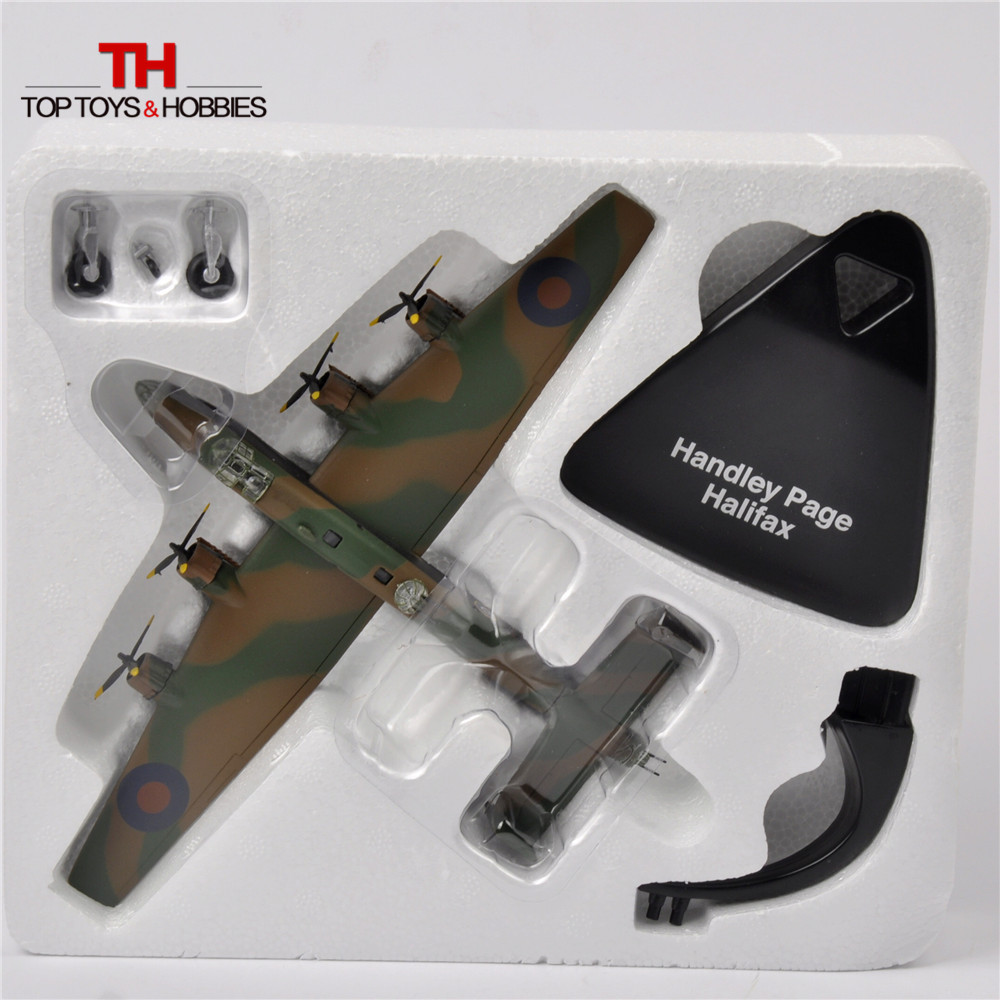 ATLAS 1/144 WW2 British RAF (Royal Air Force) Handley Page Halifax DTG 1943 Model Fighter Toys Juguetes Collection(China (Mainland))