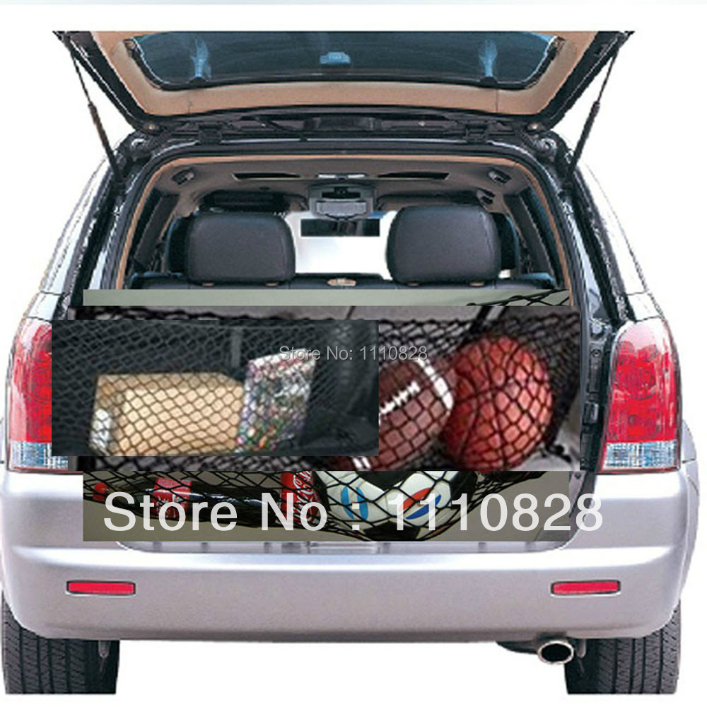 Free Shipping Luggage Trunk Envelope Elastic Organizer Cargo Net A For BMW 530i 525i 2001-2007(China (Mainland))
