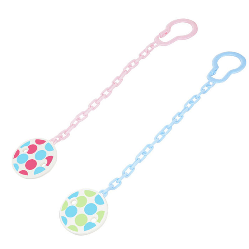 25 cm Plastic Material Baby Pacifier Clip Chain Safety Infant Soother Drop-resistant Nipple Clip Holder Pacifier Clip VCR19 P54(China (Mainland))
