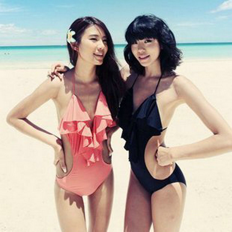 New Fashion Brand Tassel Bra Women Swimswear Push up Swimsuits Sexy swim suit Lady Beachwear One Piece Bathing suit 8(China (Mainland))