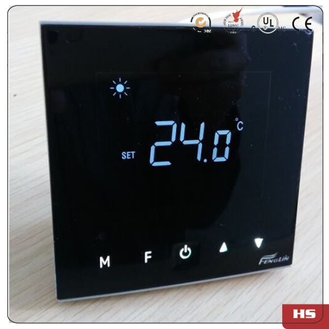D8000T 220v 230v 50~60HZ power 5kw Built in Heating Thermostat with Black frame <br><br>Aliexpress