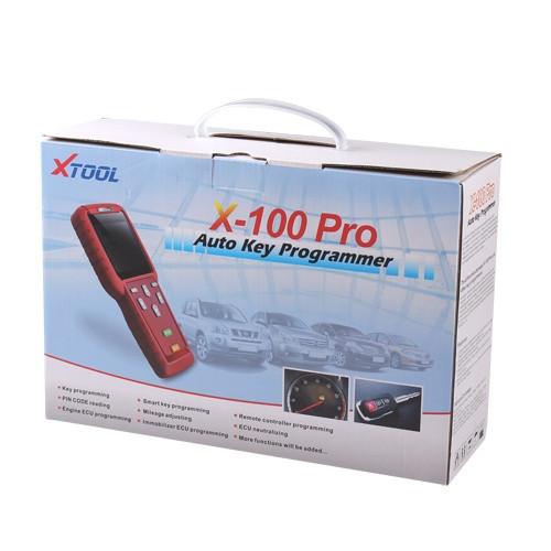 100% Original X100 Pro Programmer Better Than X100 Programmer Updated New Software X100 Pro Programmer In Stock(China (Mainland))