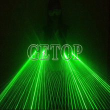 Z Laser Dancing Strong Glove DJ Party LED Lamp Luminous Gloves Green Laser Glove Event Party Supplies LED Light Bar Night Laser(China (Mainland))