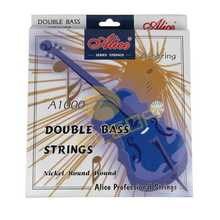 NEW 1 Set Alice Double Bass Strings Set G/D/A/E Professional Strings(China (Mainland))