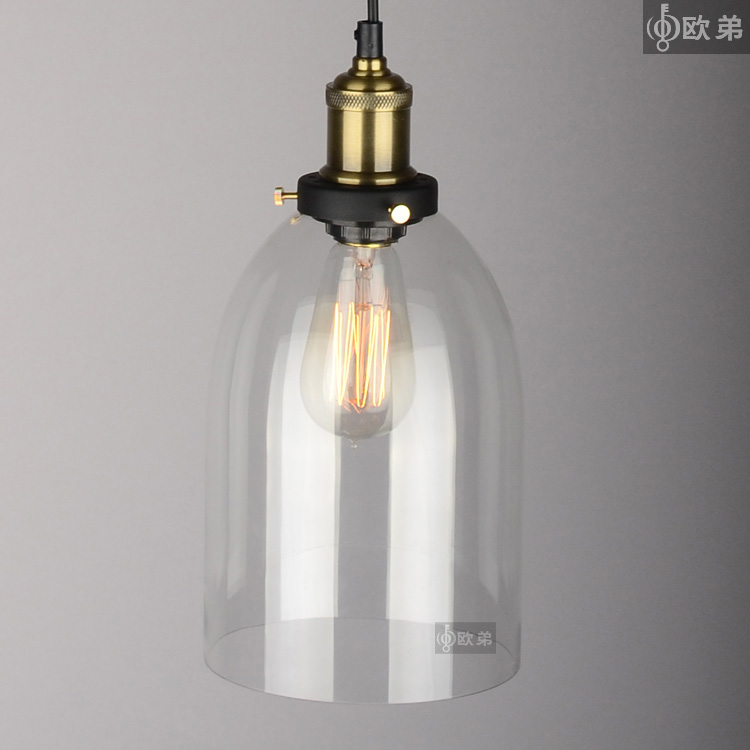 Lighting crystal bell yc brief american crystal glass pendant lamp for home modern 1pc<br><br>Aliexpress