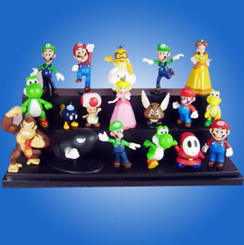 Super Mario Bros Lots 1Action Figure Doll toys - We Are The World Good To See You store