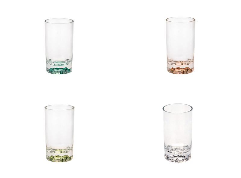 bulk supply clear acrylic Toothbrush cup gargle water glass drinkware bathroom articles for use(China (Mainland))